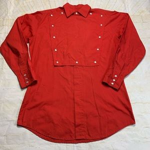 ELY Championship Collection Mens Medium Red Shirt
